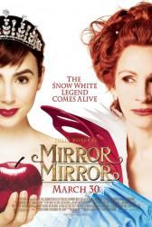 Mirror Mirror movie poster [Julia Roberts & Lily Collins] 27 X 40