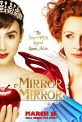 Mirror Mirror movie poster [Julia Roberts, Lily Collins] 27x40 advance