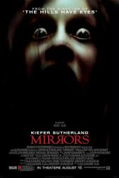 Mirrors movie poster (2008) 27x40 one-sheet