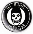 Misfits magnet: The Misfits Fiend Club (1 1/4'' Button Magnet)