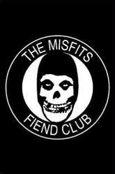 Misfits poster: Fiend Club logo (24x36)