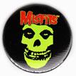 Misfits magnet: Skull logo (1 1/4'' Button Magnet)