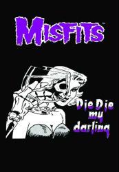 Misfits poster: Die Die My Darling (24'' X 36'') Marilyn logo