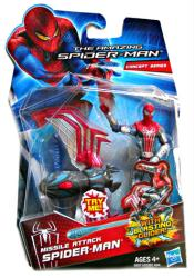 The Amazing Spider-Man: Missile Attack Spider-Man figure (Hasbro/2012)
