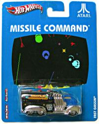 Hot Wheels Nostalgic Brands: Atari Missile Command Fast Gassin diecast