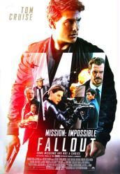 Mission: Impossible - Fallout movie poster [Tom Cruise] 27x40 original