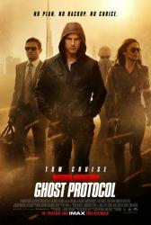 Mission: Impossible Ghost Protocol movie poster [Tom Cruise/Renner]