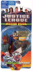 Justice League [Mission Vision] Superman figure [C0280] (Mattel/2003)