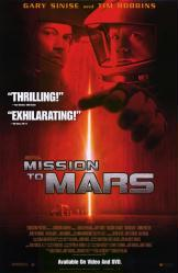 Mission To Mars movie poster [Gary Sinise, Tim Robbins] 26x40 NM