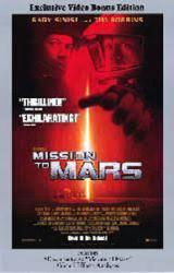 Mission to Mars movie poster [Gary Sinise, Tim Robbins] 26x40