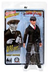 "The Three Stooges: Dizzy Doctors Moe 8"" retro-style action figure"