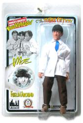 "The Three Stooges: Fuelin' Around Moe 8"" retro-style action figure"