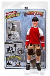"Three Stooges: No Census No Feeling Moe 8"" retro-style action figure"