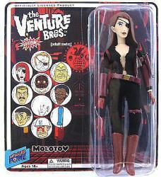 """The Venture Bros: Molotov 8"""" action figure (Bif Bang Pow/2012)"""