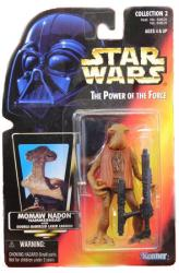 Star Wars [POTF] Momaw Nadon (Hammerhead) action figure (Kenner/1996)