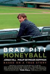 Moneyball movie poster [Brad Pitt] original one-sheet