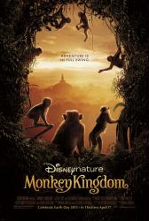 Monkey Kingdom movie poster (original 27x40) DisneyNature documentary