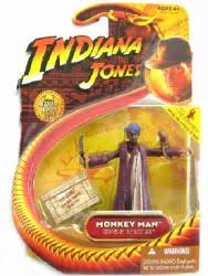 Indiana Jones [Raiders/Lost Ark] Monkey Man action figure (Hasbro) NM