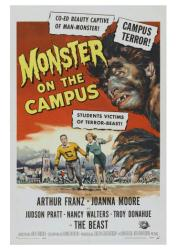 Monster on the Campus movie poster (1958) 18x24