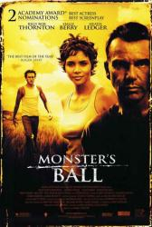 Monster's Ball poster [Billy Bob Thornton/Halle Berry/Heath Ledger] NM