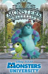 Monsters University movie poster (Mike & Sullivan) 22 1/2'' X 34''