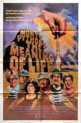 Monty Python's The Meaning of Life movie poster (27x41) original 1983