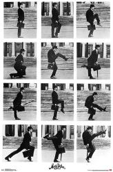 Monty Python poster: Ministry of Silly Walks [John Cleese] 22x34