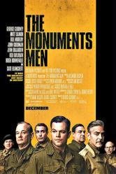 The Monuments Men movie poster [George Clooney, Matt Damon] 27x40