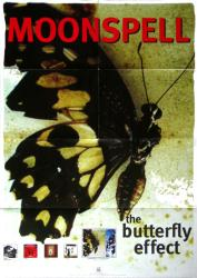 """Moonspell poster: The Butterfly Effect (23 1/2"""" X 33"""" promo poster)"""