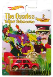 Hot Wheels: Beatles Yellow Submarine Morris Mini die-cast (Harrison)