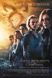 The Mortal Instruments: City of Bones movie poster (original 27 X 40)