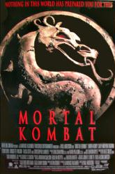 Mortal Kombat movie poster (1995) 27x40 video poster/VG