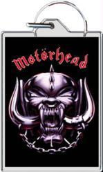 "Motorhead keychain: Snaggletooth Logo (1 1/2"" X 2 1/4"")"