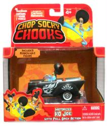 Chop Socky Chooks: Motorized KO Joe figure & Car (JadaToys/2008)