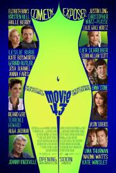 Movie 43 movie poster [Hugh Jackman, Anna Faris, Emma Stone] 27x40