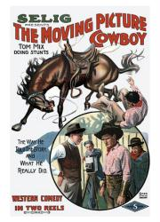The Moving Picture Cowboy movie poster [Tom Mix] 18x24