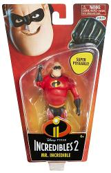 Incredibles 2: Mr. Incredible 4.5'' super poseable action figure