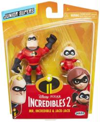 Incredibles 2: Mr. Incredible & Jack-Jack Junior Supers figures