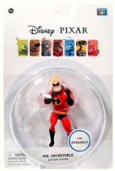Disney/Pixar: Mr. Incredible action figure (Thinkway Toys)