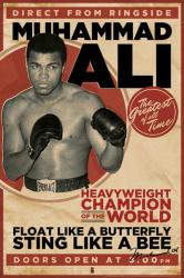Muhammad Ali poster: Heavyweight Champion of the World (24'' X 36'')