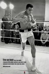 Muhammad Ali poster: I'm So Fast quote (24x36) boxing