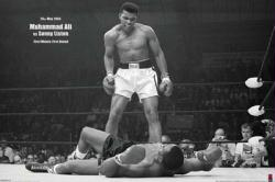Muhammad Ali vs. Sonny Liston poster: May 25th, 1965 (36'' X 24'')