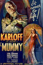 The Mummy movie poster [Boris Karloff] 1932 Universal (24'' X 36'')