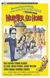 Munster, Go Home movie poster (Munsters) [Fred Gwynne] 11'' X 17''