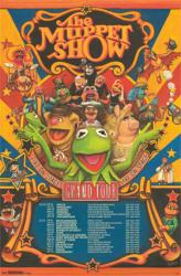 Muppets Most Wanted poster: The Muppet Show Grand Tour (22x34)