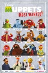 Muppets Most Wanted movie poster: Character Grid (24 X 36) Disney