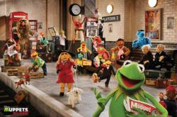Muppets Most Wanted movie poster (36 X 24) Train Station