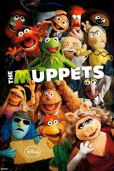 The Muppets movie poster: Cast (2011) 24x36