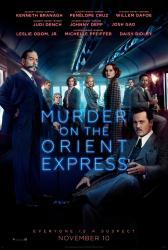 Murder On the Orient Express movie poster (2017) 27x40 original