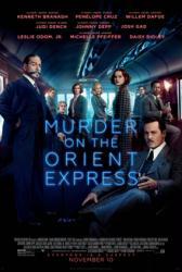 Murder On the Orient Express movie poster (2017) 27x40 original VG